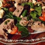 goat meat salad