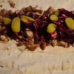 Shawarma – Chicken wrap with Zhug, tahini and pickles