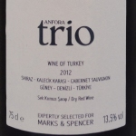 Anfora-trio-2012-Turkey