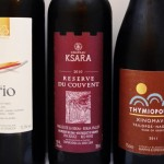 Red wine from Turkey, Lebanon and Greece
