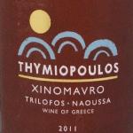 Thymiopoulos-Xinomavro-2011-Naoussa-Greece