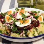 East Med potato salad